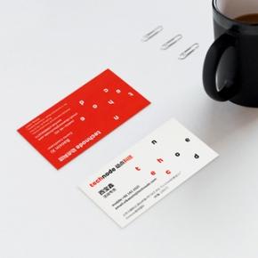 PVC透明名片